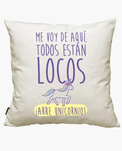 Fodera cuscino arre unicorno