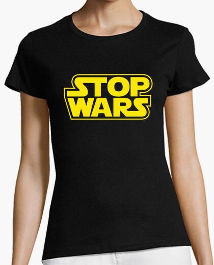 T-shirt arresto wars (guerre stellari) donna