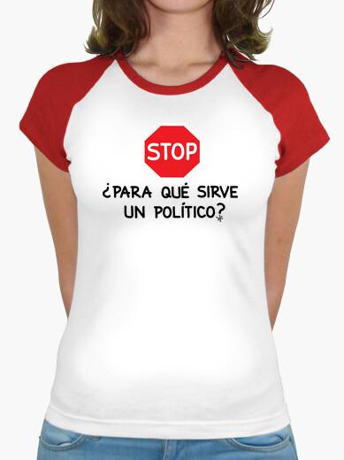 Tee-shirt arrêter à quoi sert un politicien? 2