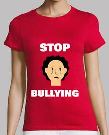 arrêter l'intimidation t-shirt femme