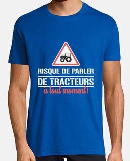 arriesgarse a hablar de tractores