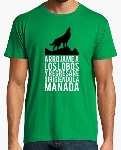 Camiseta Arrojame a los lobos