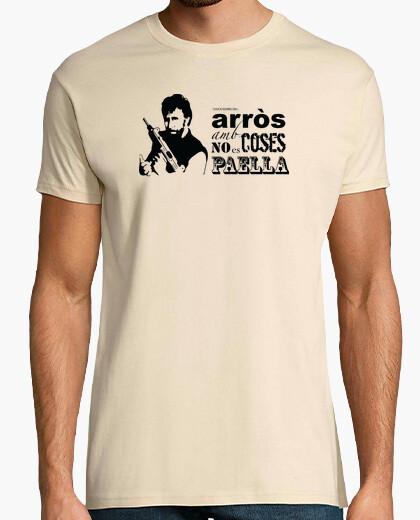 Camiseta arròs amb coses, chuck norris