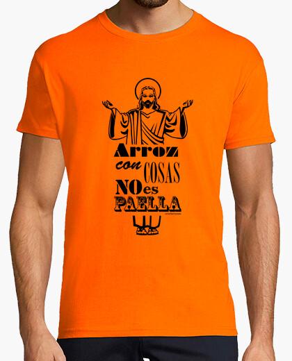 Camiseta arroz con cosas
