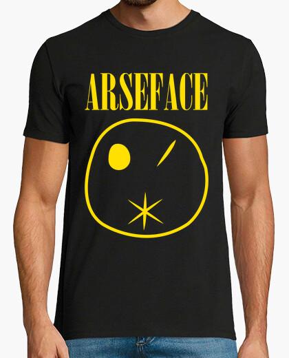 Arseface preacher t-shirt