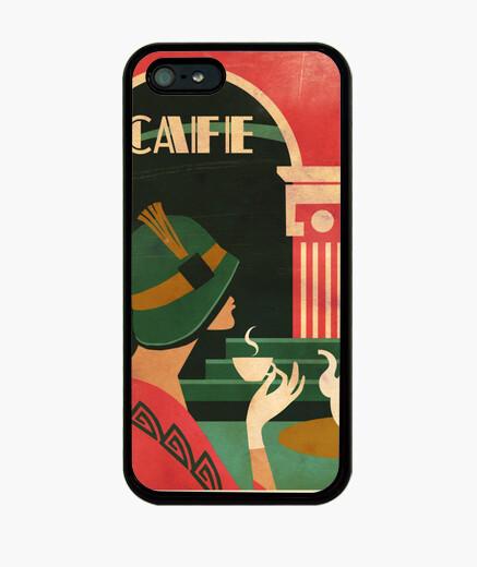 Funda iPhone art café deco
