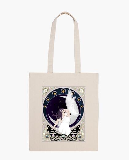 Art nouveau fairy shoulder bag