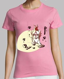 Art Okami- Camiseta mujer