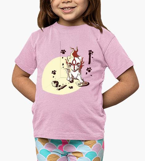Ropa infantil Art Okami- Camiseta niño