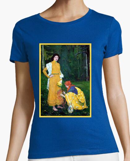 Camiseta Arte - Mujeres en el bosque