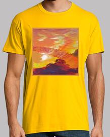 Arte - Paisaje volcánico
