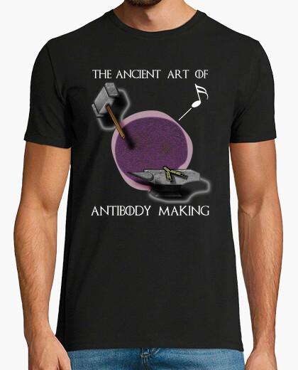 Camiseta Arte forjar inglés oscuro