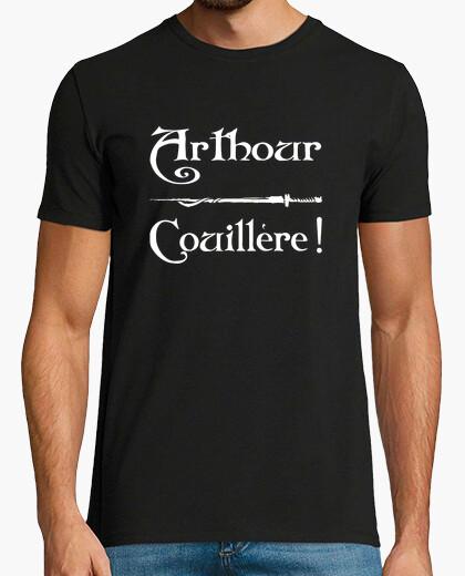 Camiseta arthour couilleur kaamelott tsh