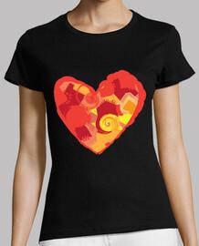 Artistic heart / Corazón artístico