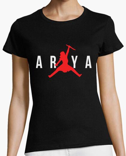 Adelante Artesano incrementar  Camiseta Arya Stark Air Jordan | laTostadora