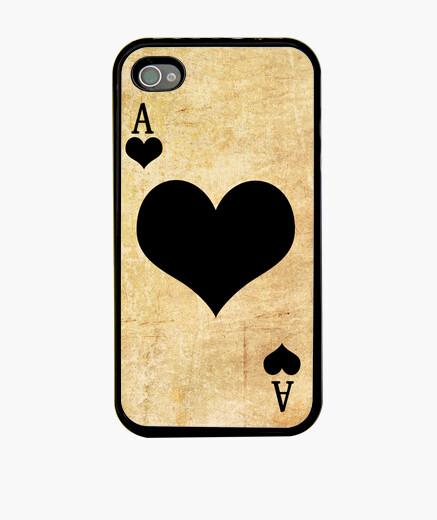 Funda iPhone AS de corazones