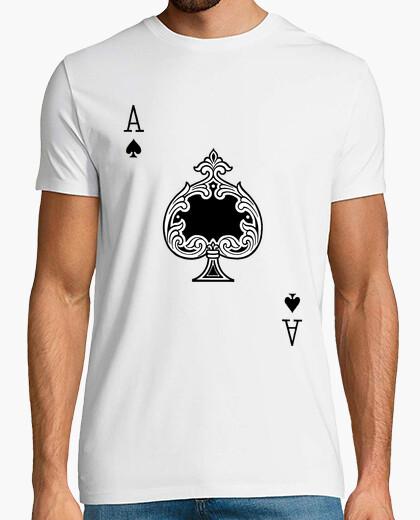 Camiseta As de Picas