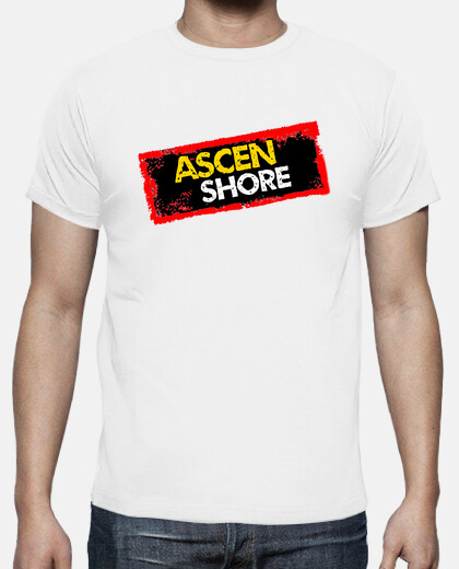 Camisetas Ascen Shore (Parodia Gandia Shore)