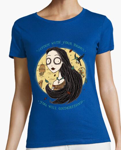 T-shirt ascoltare con your cuore
