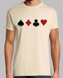 Ases de la baraja poker