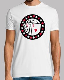 ases de póquer del casino