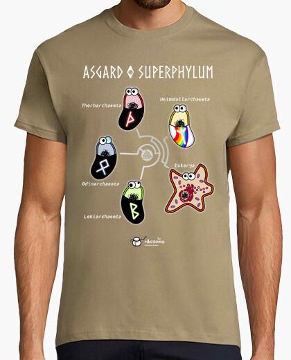 Camiseta Asgard ᛉᛒᛟᚦ (fondos oscuros)