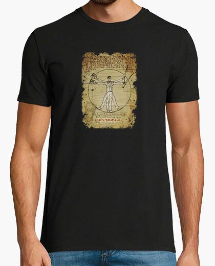 Ash-truvian man t-shirt