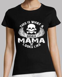 así es como se ve una mamá badass