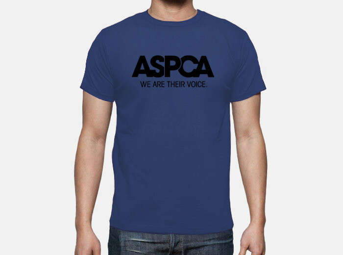 cb50584e09 aspca we are their voice black T-shirt - 1314622