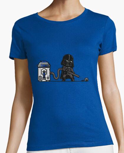 Camiseta aspirador robótico