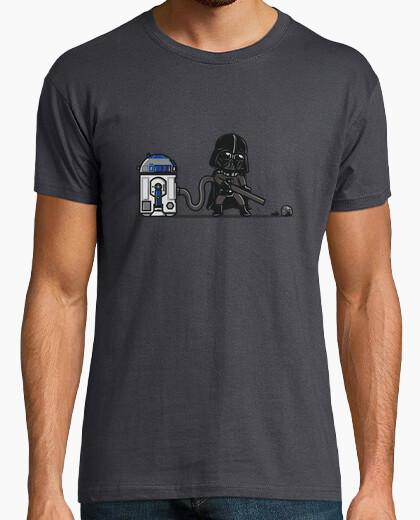 T-shirt aspirapolvere robotico