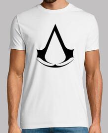 Assasin Creed Camiseta Blanca (Personalizable)