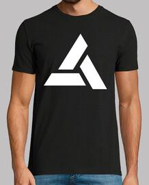 Assassins Creed Logo Abstergo Blanc