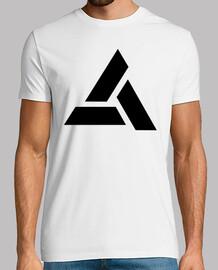 Assassins Creed Logo Abstergo Negro
