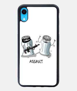 ASSAULT Funda iPhone XR