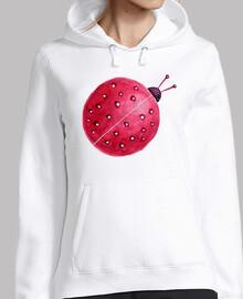 assez abstrait aquarelle ladybug