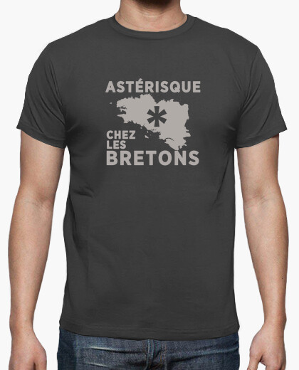 Asterisk in brittany t-shirt