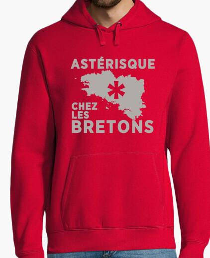 Astérisque chez les Bretons - homme sweat léger