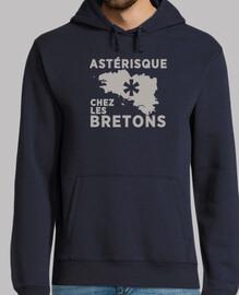 Astérisque chez les Bretons - Sweat-shirt homme