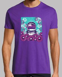 astronaut blüht t-shirt