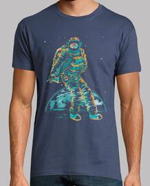 astronaut: mondspaziergang