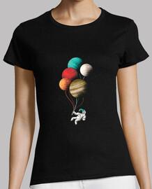 astronaut steigt t-shirt .
