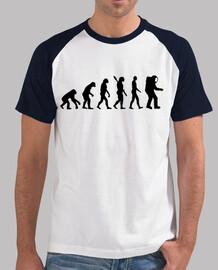 astronauta de la evolución