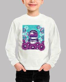 Astronauta flores