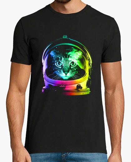 T-shirt astronauta gatto