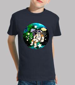 Astronauta Kawaii.
