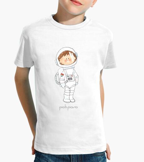 Abbigliamento bambino astronauta. t-shirt bambino