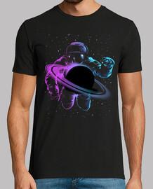 astronaute de saturne