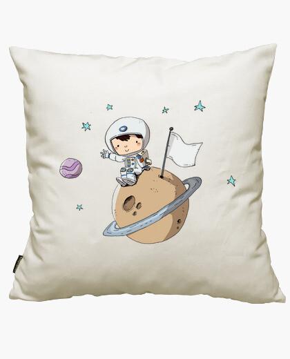 Housse de coussin astronaute enfant
