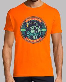 astronauti vintage t-shirt spaziale